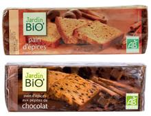 Pains d'épices vegan vegetalien de Jardin BiO' sans huile de palme