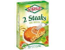 Steaks de soja Sojasun