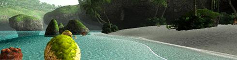 Baie de Bibiki et Île Purgonorgo