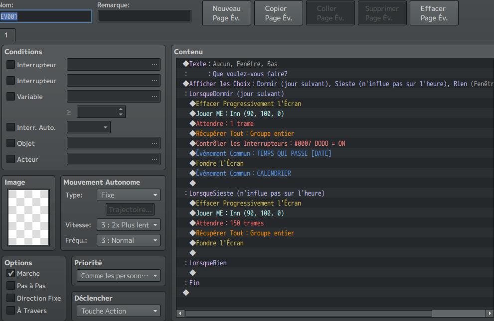 Système Craft / Calendrier Ev_LitAuberge