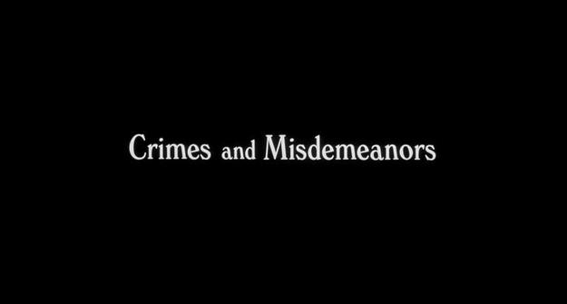 Crimes et délits - générique