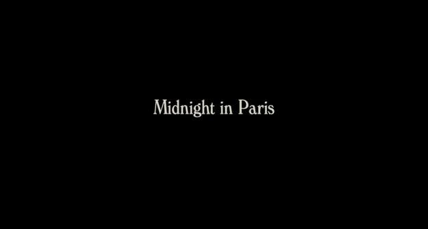 Minuit à Paris - générique