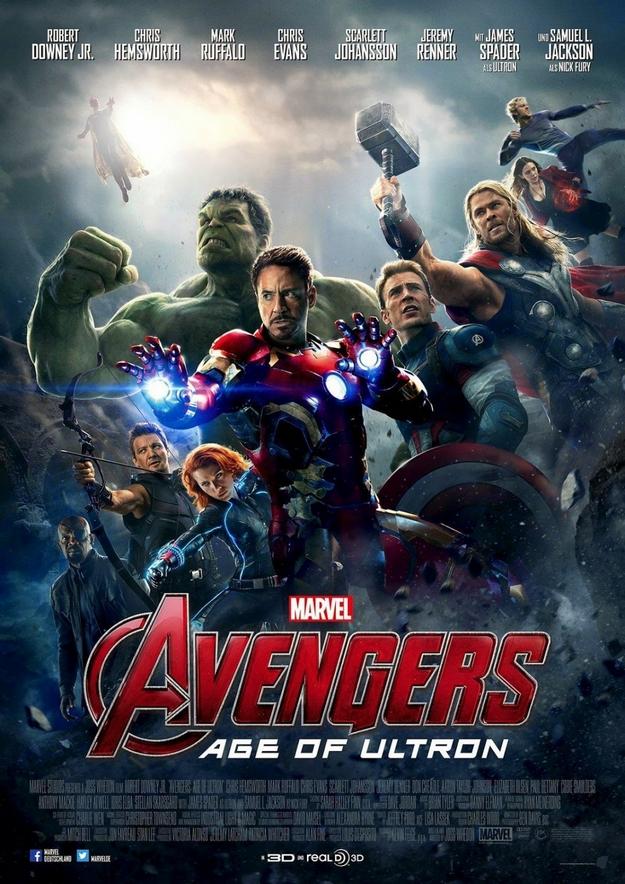 Avengers l'ère d'Ultron - affiche