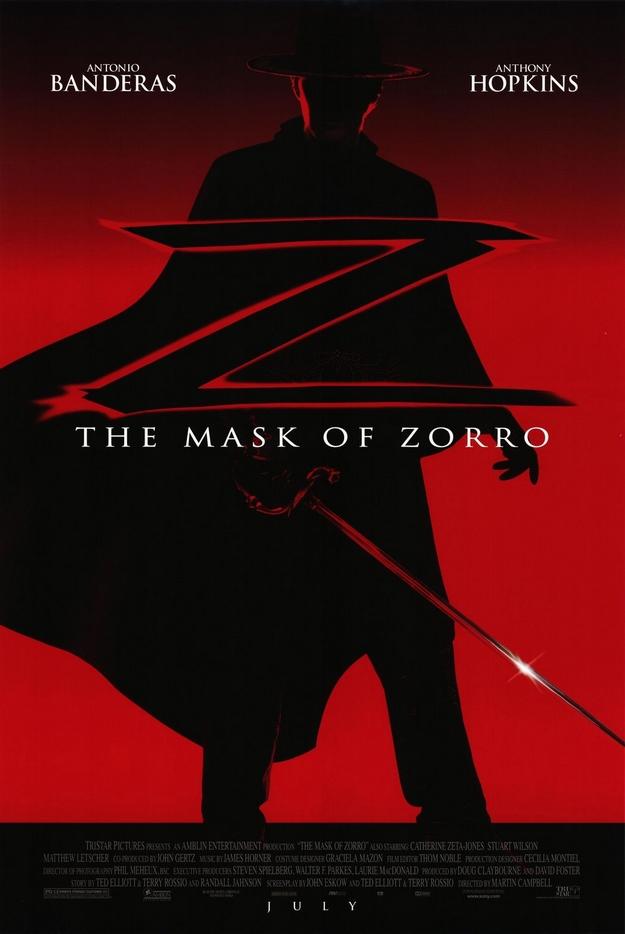 Le masque de Zorro - affiche