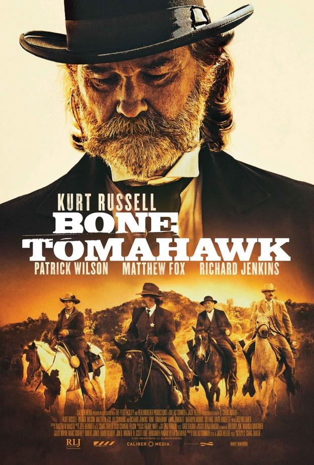 Bone Tomahawk - affiche