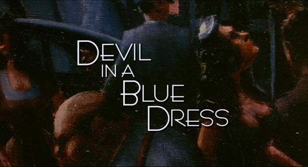 Le diable en robe bleue - générique