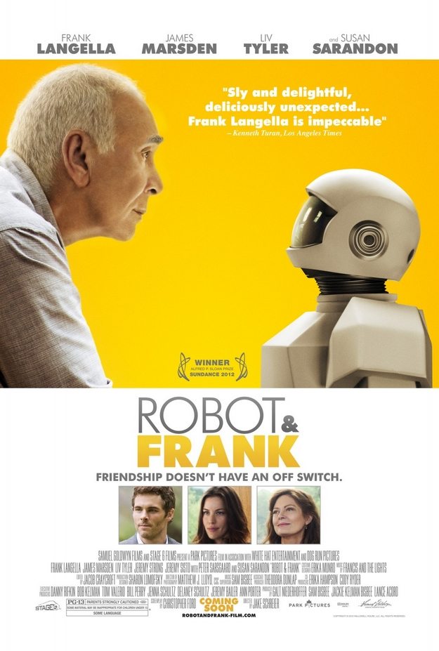 Robot & Frank - affiche