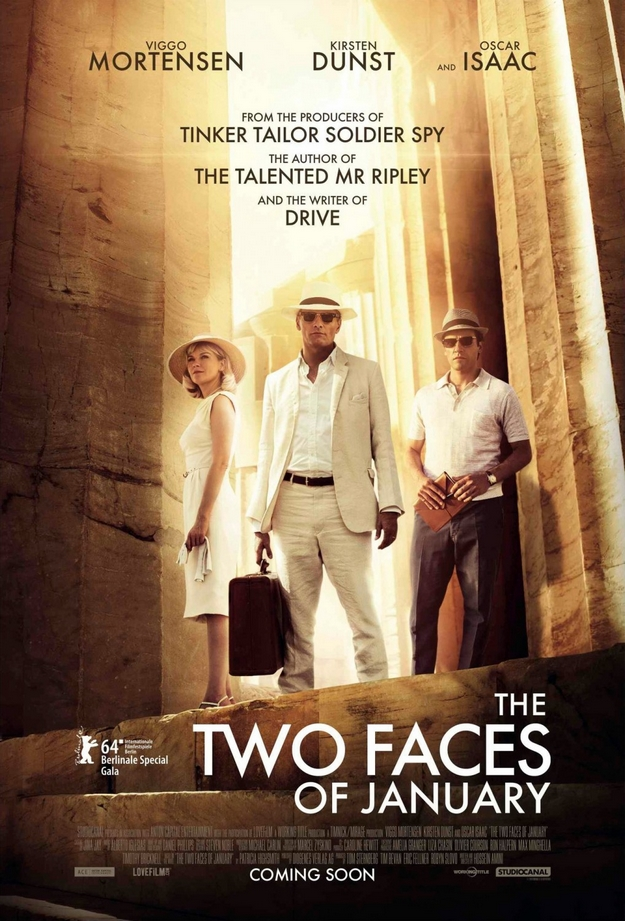 Two faces of January - affiche