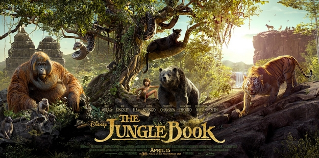 Le livre de la jungle - affiche