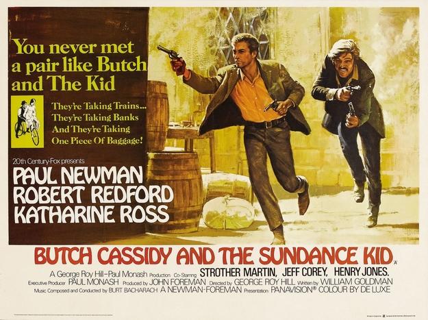 Butch Cassidy et le Kid - affiche