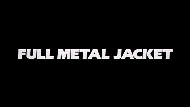 Full Metal Jacket - générique