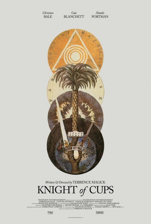 Knight of Cups - affiche