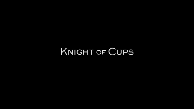 Knight of Cups - générique