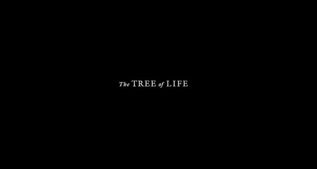 The Tree of Life - générique