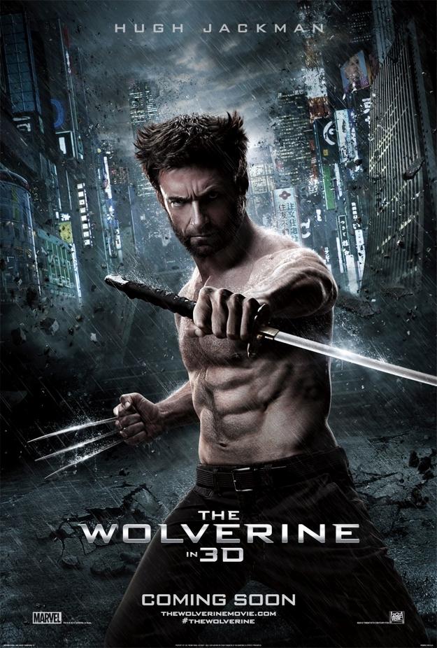 Wolverine le combat de l'immortel - affiche