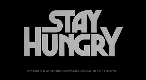 Stay Hungry - générique