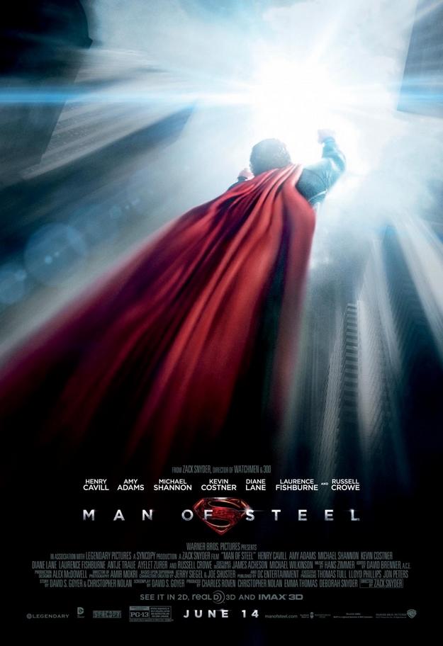 Man of Steel - affiche