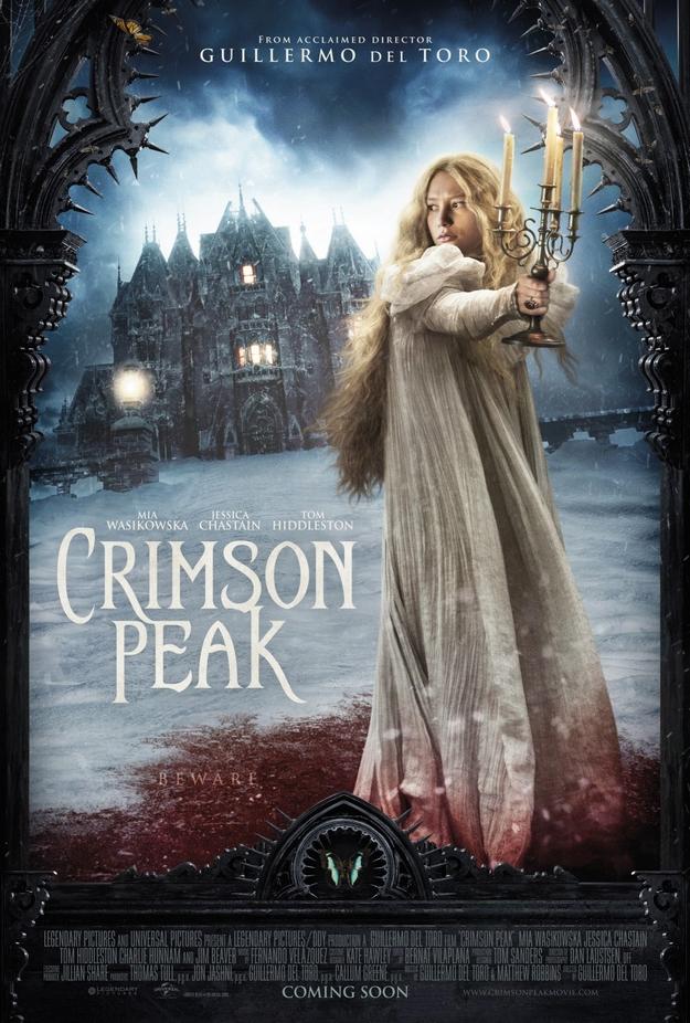 Crimson Peak - affiche