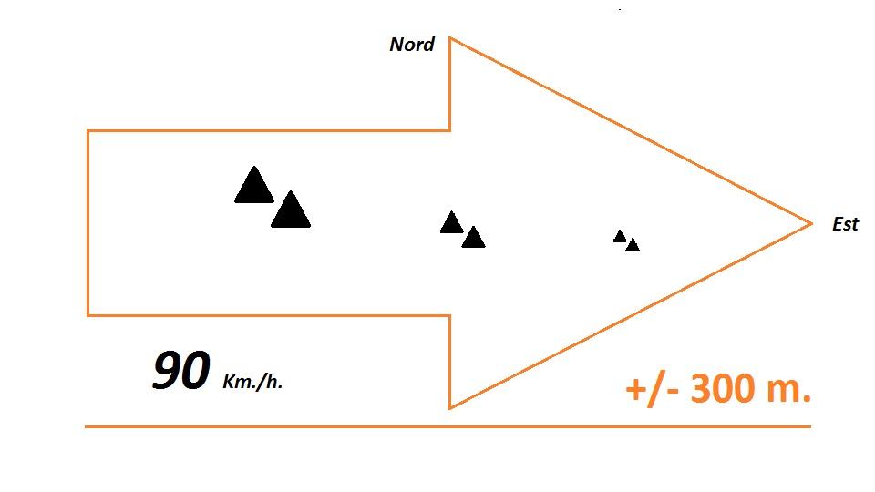 2016: le 13/04 à 15h - Ovni triangulaire volant -  Ovnis à mont-de-marsan - Landes (dép.40) 03