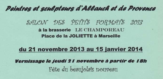 Exposition a la brasserie Le champoreau Marseille Tamara Ribes