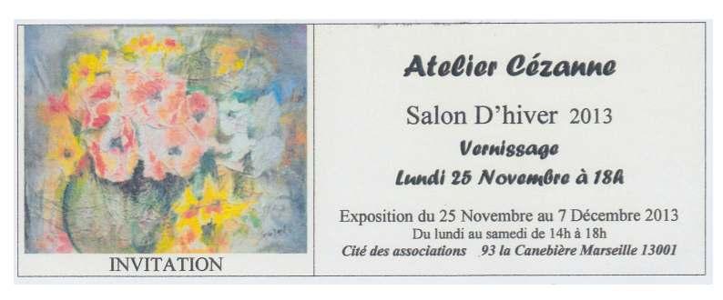 expostion peinture atelier Cezanne Marseille - Tamara Ribes