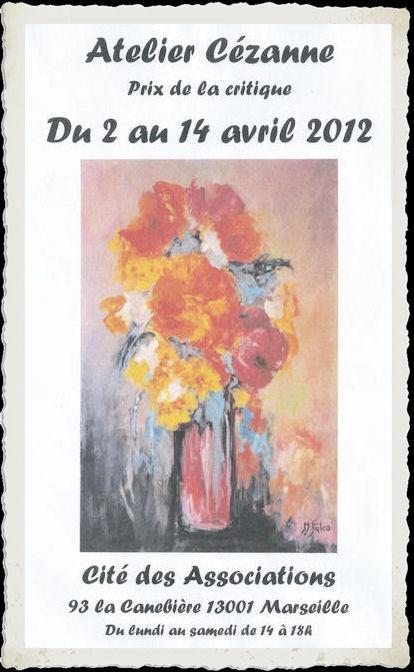 avril 2012 exposition cité des associations Marseille