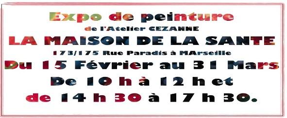 Exposition de l'Atelier Cézane à la Maison de la Santé à Marseille - Tamara Ribes