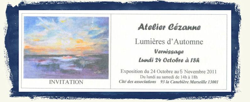 EXPOSITION ATELIER CEZANNE - MARSEILLE