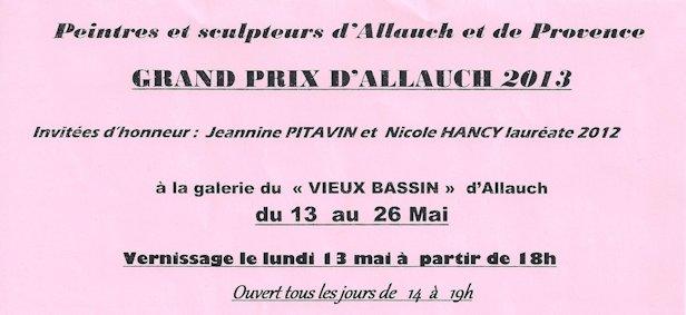 Exposition Allauch Vieux Bassin - Tamara Ribes