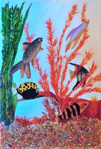 Aquarium Tamara Ribes Peintre