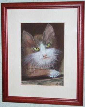 """Pastel """"Le petit chat """""""