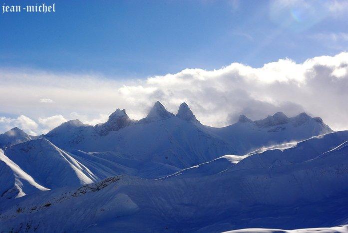 Les Aiguilles d'Arves dans Montagne
