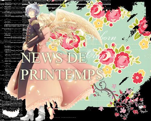News de printemps  News