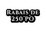 Loterie de janvier Rab250