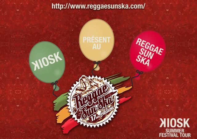 KIOSK présent au Reggae Sun Ska