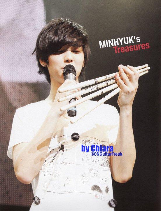 Anniversaire Minhyuk Minhyuk_drum