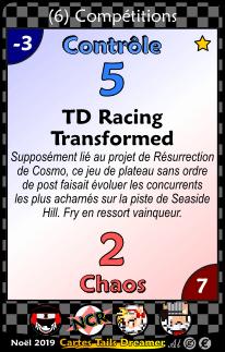 Collection des Cartes TD X6
