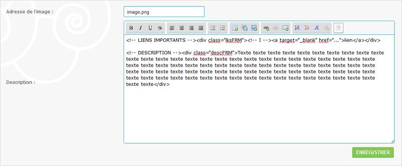 Modification codage catégorie MDIFCAT26