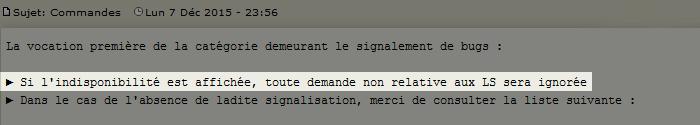 Commande d'avatars RULE