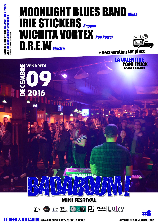 Nouveau groupe de Blues Havrais 09-12-2016
